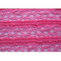 Quality Crocheted Stretch Lace Fabric for sale