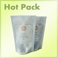 50g Organic Tea Plastic Aluminum Foil Packaging Bags With Clear Window