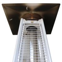 Manual Operating Square Patio Heater Heater For Court Yards Energy Efficient