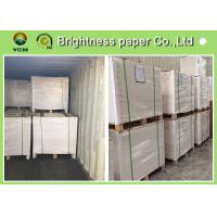 Multiplication Ivory Board Paper White Coated For Die Cutting 889 * 1194mm