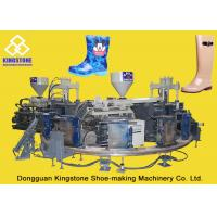Quality Rain / Water Boot / Gumboot Dual Injection MoldingMachine Rotary Type for sale