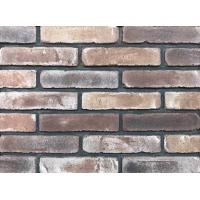 Quality Antique Thin Brick Veneer Through Molded / Sintered With Different Colors Mixed for sale