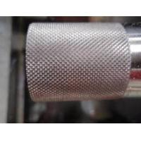 Grain Pattern Metal Steel Embossing Roller For engrave pattern
