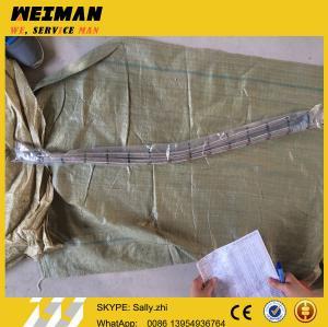 SDLG orginal flexible metal tube 4120002043, sdlg loader parts for wheel loader LG956L