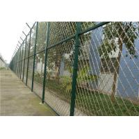 Quality Size Customized Prison Wire Fence , Razor Wire Fence For Government Offices for sale