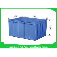 Quality Recycle Industrial Plastic Containers , Standard Euro Stacking Boxes Eco-Friendly for sale