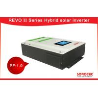 Buy cheap Wide PV Input Range 120-450VDC Solar Power Inverters 220VAC with Battery Optional from wholesalers