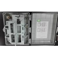 32 Core Plastic  Optical Fiber Distribution Box Outdoor Or Inddor Wall Mounted