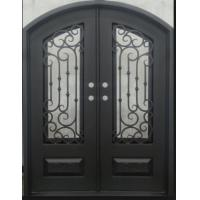Awesome Wrought Iron Entry Door