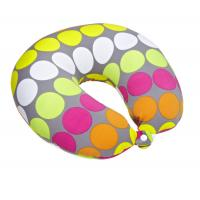 Wholesale U Shaped Polystyrene Microbead Travel Pillow / Travel Neck Cushions from china suppliers