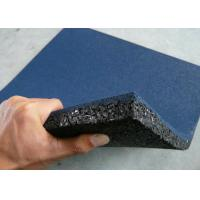 Quality Grain Rubber Felt Floor Spill Mat , Industrial Rubber Sheet Thickness 10-50mm for sale
