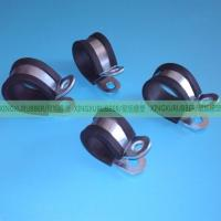 rubber cushion clamp rubber hose clamp rubber pipe clamp