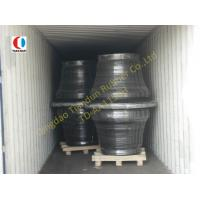 Quality 1150H Super Cone Black Boat Fenders SBR For Harbor , ISO9001 for sale