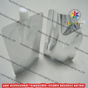 Aluminum Foil Plain Spout Pouch Packaging With Cap