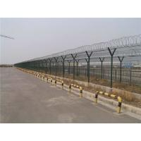 Quality Practical Anti Climb Fencing / Airport Security Fence With Razor Barbed for sale