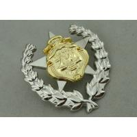 Army Zinc Alloy Custom Medal Awards 2 Pcs Combined With Double Tones Plating