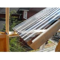 Clear Lexan Corrugated Polycarbonate Panels , Corrugated Skylight Panels
