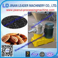 Wholesale high capacity quality products stainless steel peanut butter making machine/peanut butter from china suppliers