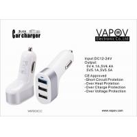 Wholesale 3 Port  USB  Car Charger 5.4A   For  Apple / Android / Samsung Mobile Phone , Tablet PC from china suppliers