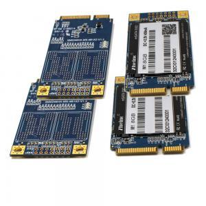 MLC Nand Flash mSATA SSD SMI2246XT Mini PCIe 8GB 16GB 30 * 50 Mm