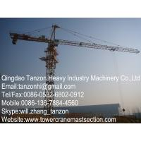 Wholesale 8 ton Construction Tower Crane For Wharf / Bridges , TC6013-8 from china suppliers