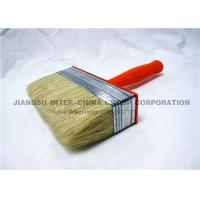 Wholesale OEM / ODM Ceiling Wall Paint Brush , Synthetic Bristle Brush With Plastic Handle from china suppliers