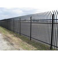 Quality Easy Installation Anti Climb Mesh Fence Steel Security Fencing With Sharp Top / Bend Top for sale