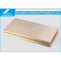 Wholesale Hot Stamping Cosmetic Packaging Boxes Gold Gift Environmentally Friendly Packaging from china suppliers