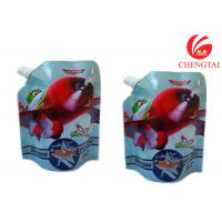Gravure Printing Surface Stand Up Spout Pouch Use Handling Shampoo Bags