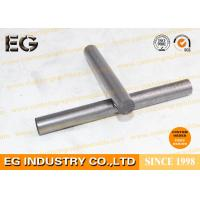 Quality 1/4 Inch Durable Pure Graphite Rod , Custom Shape Stirring Graphite Round Bar for sale