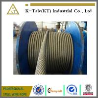 good price stock elevator steel wire rope for elevator 8x19S+fibre core 13mm for left with SGS certification