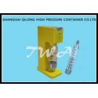 Buy cheap Semi Automatic Soda Water Maker Filling Machine , Stable Pressure from wholesalers