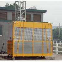 Wholesale Yellow OEM Goods Material Construction Hoist Elevator SC100 with Hot Dipped Zinc from china suppliers