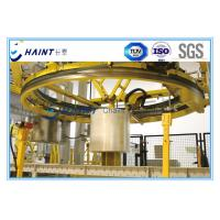 Nonwoven Roll Handling Solutions With Conveying / Wrapping Large Scale