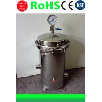 Stainless Steel Water Filter Housing 10 inch 3 cores 304/316 material