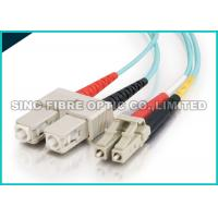 Bend Insensitive Multimode Fiber Optic Patch Cables LC - SC 2.0mm for Telecommunication