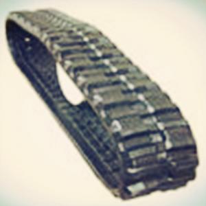 Big Type Black Rubber Tracks 420*100*50 for Brand Dumper truck