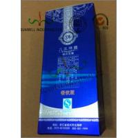 Multi Colored Custom Printed Corrugated Wine Packaging Box Glossy Lamination