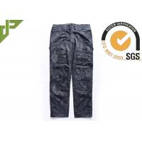Tactical Style Military Pants With Knee Pads For All Season , Multicam Cargo Pants