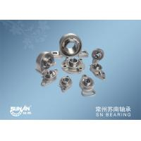 Small Mounted Ball Bearings Unit / Stainless Steel Pillow Block Bearing