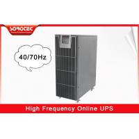 Buy cheap Power Factor 0.9 Data Center UPS Uninterrupted Power Supply Battery Backup 10kva 9kw from wholesalers
