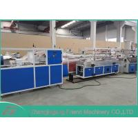 Quality Energy Saving Plastic Profile Production Line With Infrared Tracking Device for sale