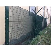 Quality Green Anti Climb Fencing Anti Cut 358 Security Mesh Fencing For Border / Military for sale