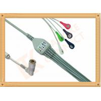 Colin BP88 BP306 6 Pin Snap AHA ECG Patient Cable Customizable