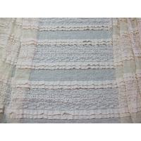 Quality Bridal Stretch Lace Fabric Knitted for sale