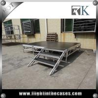 1.22x1.22m aluminum mobile stage for sale event stage decorations revolving stage