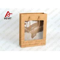 Wholesale Transparent PVC Eco Friendly Promotional Paper Bags Advertising Use from china suppliers