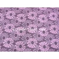 Quality Pink Sunflower Design Stretch Lace Fabric Cute And Lovely For Girl SYD-0172 for sale