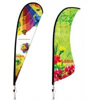 Wholesale Custom Concave Angled Advertising Flying Banner Display , Outdoor Banner Stands from china suppliers