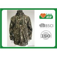Quality Mens Waterproof Outdoor Softshell Jacket Durable Polyester ISO 9001 Approval for sale